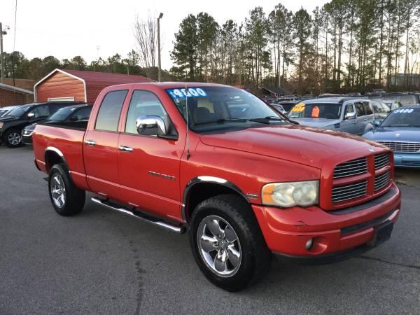 Photo 2003 DODGE RAM 1500 ST (4WD) 919-522-8594 - $4800 (11282 US 70 BUSINESS HWY W CLAYTON NC)