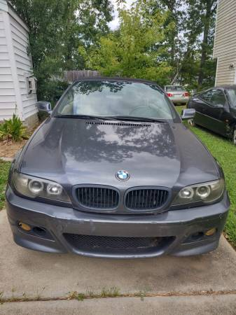 Photo 2005 BMW 325i Convertible - NEEDS TRANSMISSION. - $2,000 (Raleigh)