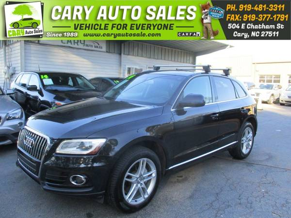 Photo 2014 AUDI Q5 PREMIUM PLUS, ALL WHEEL DRIVE - $16,995 ( Cary Auto Sale)