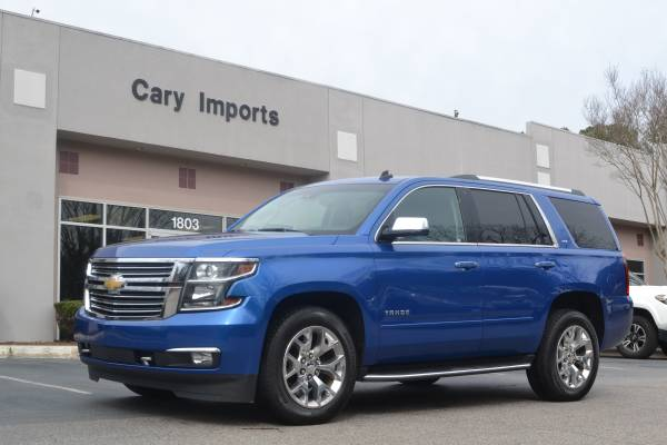 Photo 2015 CHEVY TAHOE LTZ - CLEAN TITLE - LOADED - RARE COLOR - $29516 (Cary Imports)