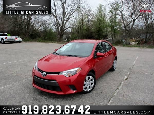 Photo 2015 Toyota Corolla LE - $9950 (Little M Car Sales)