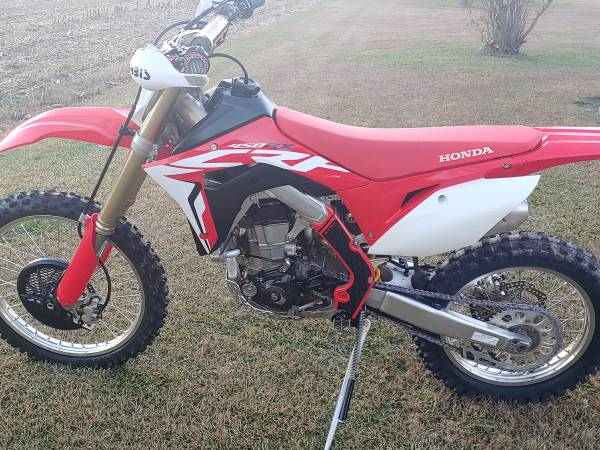Photo 2017 Honda CRF 450 RX - $5,500 (Greenville)