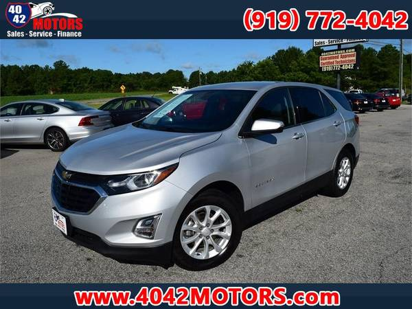 Photo 2018 CHEVROLET EQUINOX LT ONE OWNER BLUETOOTH POWER LIFTGATE - $16,988 (GARNER 4042)