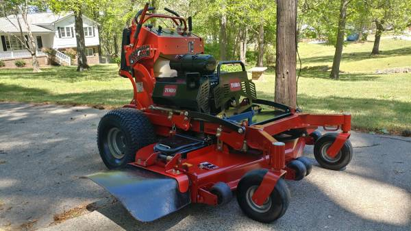 Photo 2018 Toro Grandstand 60quot Commercial Mower w New Engine - $5,800 (Durham)