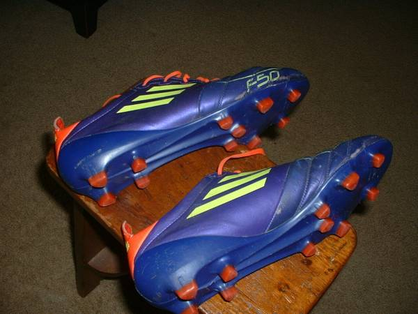 Photo Adidas Adizero F50 Soccer Cleats Men39s 11.5 - $30 (N. Raleigh)
