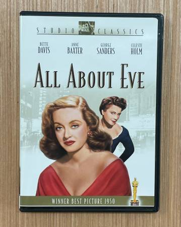 Photo All About Eve (Winner Best Picture 1950) DVD Classic Movie 2003 - $12 (North Raleigh)