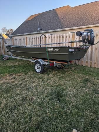 Photo Alumnacraft 1542 jon boat - $3,900 (Graham, NC)