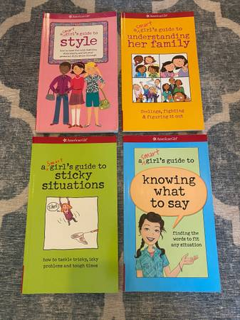 Photo American Girl Smart Girls Guide Book Sets - $4 (North Raleigh (Ray Strickland))