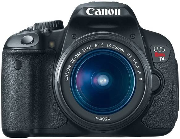 Photo Canon EOS Rebel T4i 18 MP CMOS Digital SLR package with 2 lenses - $400 (Cary, NC)