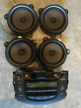 Photo Car Stereo  speakers for Toyota RAV4 - $45 (Wake Forest  North Raleigh)