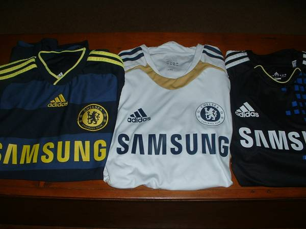 Photo Chelsea Football Soccer Jersey Adidas ClimaCool Men39s S White - $20 (North Raleigh)