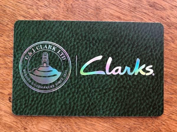 Photo Clark39s Shoe39s Gift Card $89 - $75 (Raleigh)