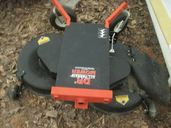 Photo DR lawn mower head, 42quot, Best offer - $750 (Chapel Hill)