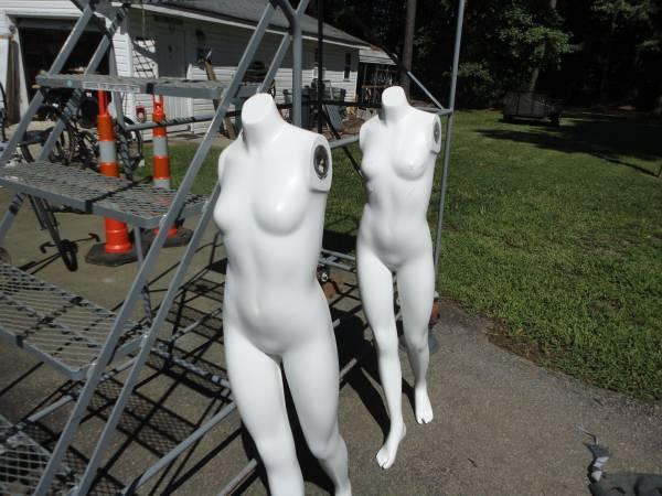 Photo Female Mannequin - Headless, - White - $20 (Cary)