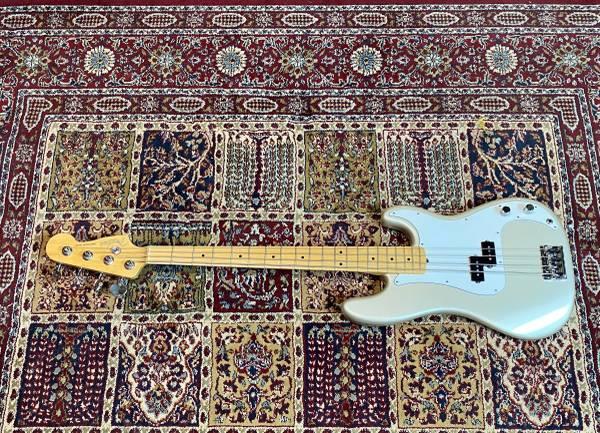 Photo Fender American Standard Precision Bass - Lollar Pickups - $1,325 (Raleigh)