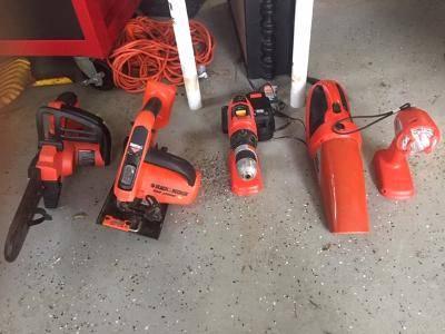 Photo Firestorm Power Tool set- 18 volt Black and Decker - $75 (Raleigh)