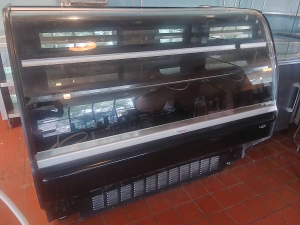 Photo Glass Front Commercial Display Case - $250 (Chapel Hill)