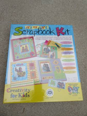 Photo It39s My Life Scrapbook by Creativity for Kids-Brand New - $18 (Cary)