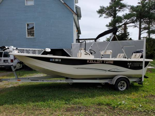 Photo LIKE NEW 2014 Carolina Skiff 218 DLV - $27,000 (Wanchese)