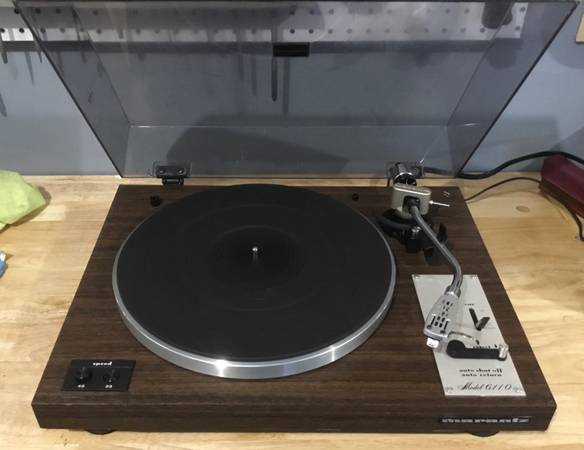 Photo Marantz 6110 Turntable - $165 (Fuquay-Varina)