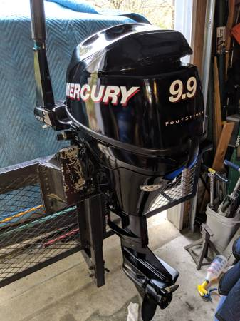 Photo Mercury 9.9hp Outboard Motor - $1950 (Holly Springs)