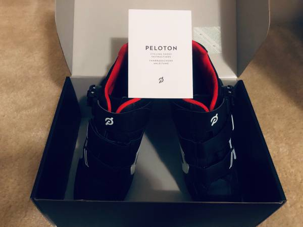Photo Peloton Bike Shoes w Cleats - Size 43 (Mens 10) - Worn Only 8 Times - $95 (Durham)