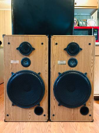 Photo Pioneer Home Stereo Floor Speakers With 15quot Inch Woofers - $250 (Ramseur, NC.)