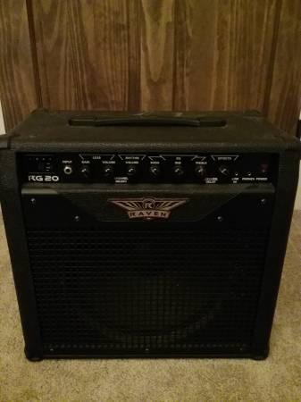 Photo Raven RG 20 Guitar Amp - $90 (Kipling)