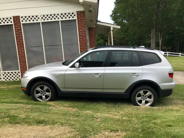 Photo Reduced For sale by owner Silver 2007 BMW X3 3.0 si AWD - $5500 (Garner)
