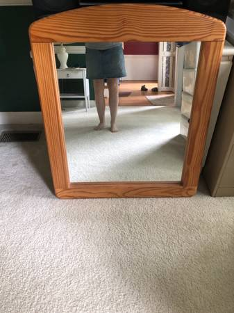 Photo This End Up Mirror - $74 (North Raleigh)