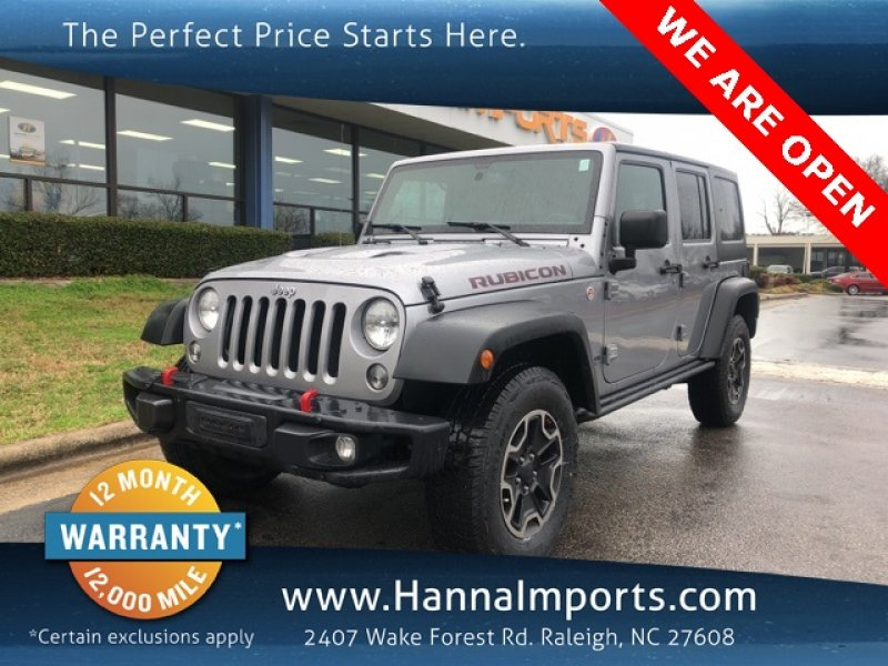 Photo Used 2015 Jeep Wrangler 4WD Unlimited Rubicon for sale