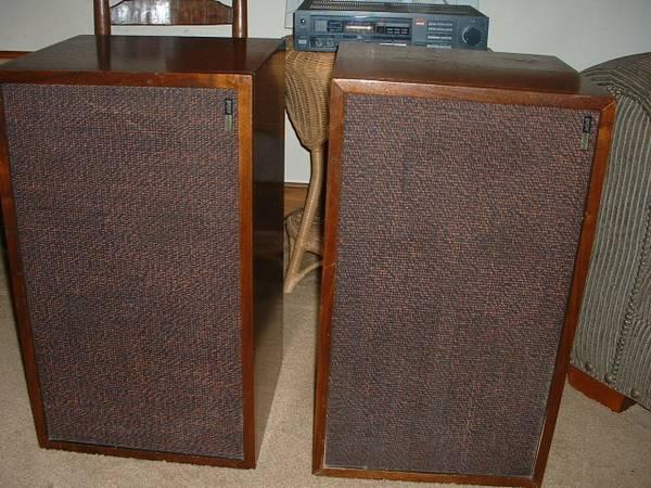 Photo Vintage early 197039s Utah Floorstanding Speakers Heritage HS1-C - $100 (N. Raleigh)