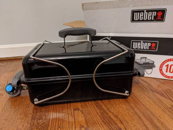 Photo Weber go anywhere gas grill - $60 (Durham)