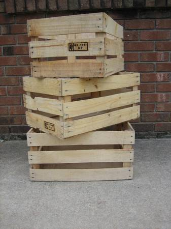 Photo Wood Crates - Weddings, Projects, Storage, etc. - $5 (Raleigh)