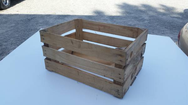 Photo Wooden Crates For Storage, Projects, Weddings, Props Etc. - $5 (Raleigh)