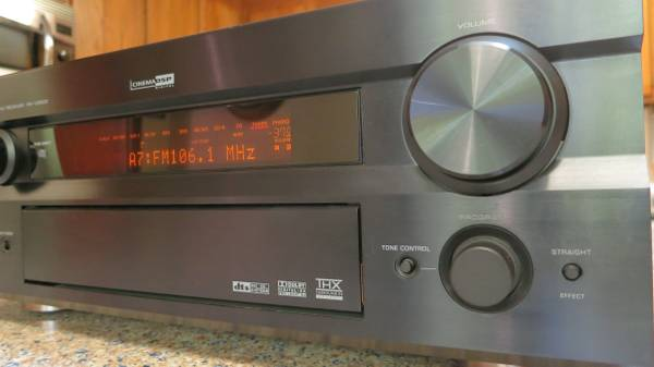 Photo Yamaha RX-V2500 Audio Video receiver lifier - $165 (North Raleigh)