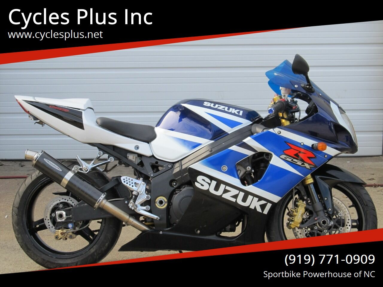 Photo 2003 Suzuki GSXR 1000 $5495