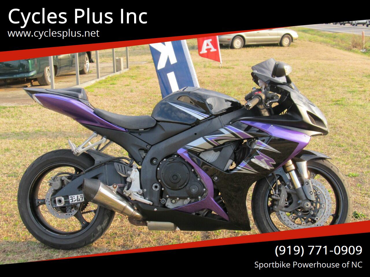 Photo 2007 Suzuki GSXR 600 $5295