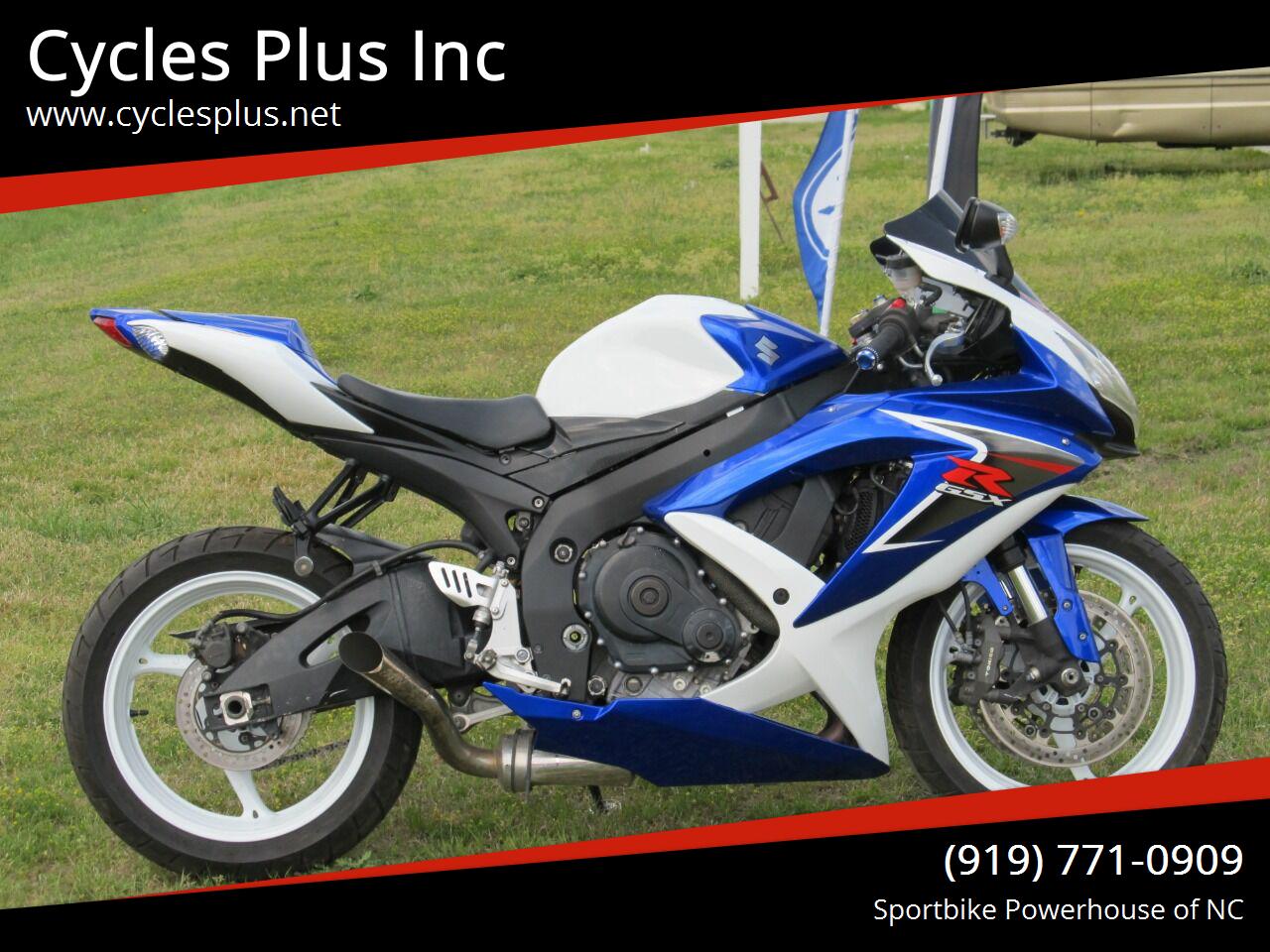 Photo 2009 Suzuki GSXR 750 $6495