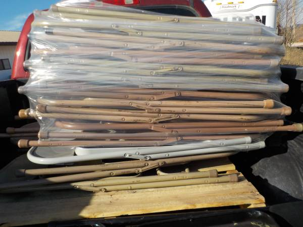 Photo 18 steel folding chairs - $70 (Rapid City, SD)