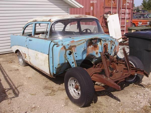 Photo 1956 Chevy 2 Door Post Belair - $2,500 (Rapid Valley)