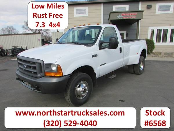 Photo 1999 Ford F350 7.3 4x4 Reg Cab Long Box Pickup - $18900 (Ford F-350 7.3 4x4 Reg Cab Long Box Pickup)