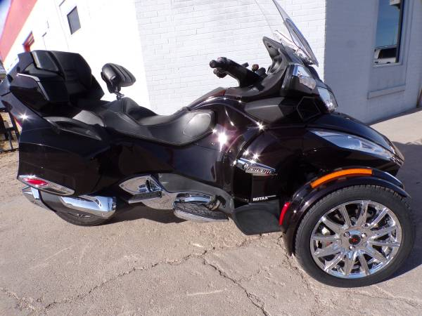 Photo 2013 Can Am Spyder RTSE5 Limited - $12,995 (Mikes Bikes Gering Ne)