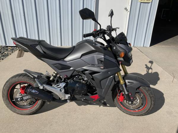 Photo 2017 Honda Grom - $2,500 (Frank Powersports - Scottsbluff, NE)