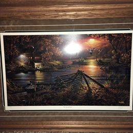 Photo BRAND NEW- Terry Redlin Limited Edition- Social Hour - $400
