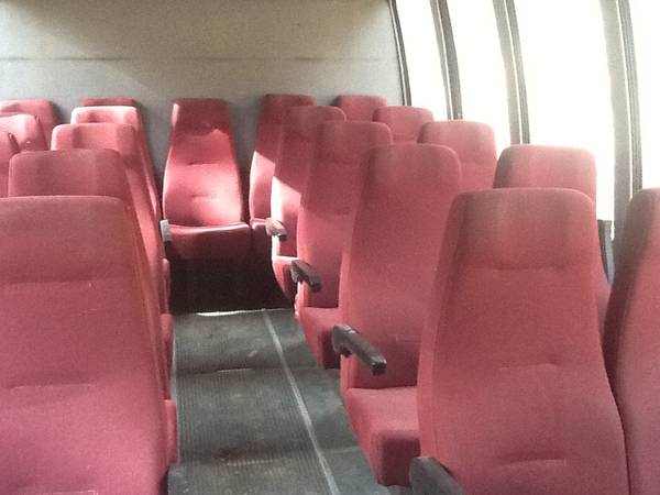 Photo Bus Seats, Shuttle bus seating - $100 (Rapid City)
