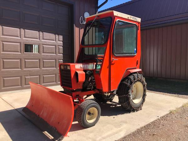 Photo Case 446 Lawn Tractor wCab, Mower, Tiller, SnowBlower, Blade and 3pt. - $4,250 (Rapid City)