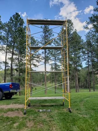 Photo Construction Scaffolding - $1,550 (Rapid City, SD)