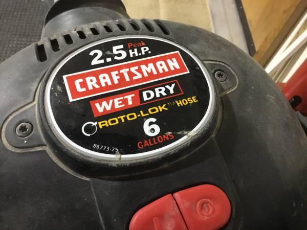 Photo Craftsman Shop Vac - $15 (Rapid City)