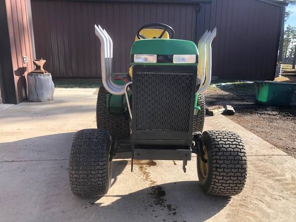 Photo John Deere 318 Lawn Tractor Custom Built wV6 Engine - $5,950 (Rapid City)